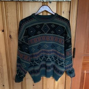 Vintage oversized grandpa sweater